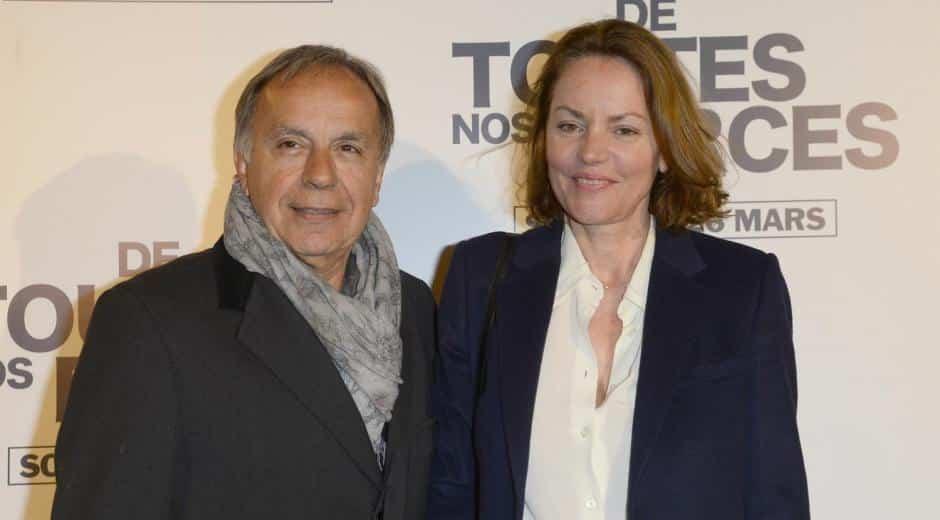 Cendrine Dominguez et son mari